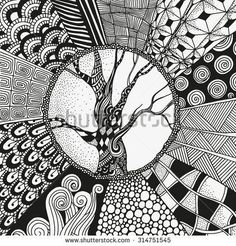 sun doodle patterns step by step Easy Doodle Art, Doodle Art Designs, Doodle Art Drawing, Zentangle Drawings, Mandala Drawing, Doodle Patterns, Art Drawings, Zentangles, Easy Doodles