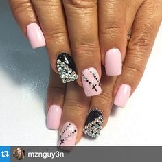 """""""#Repost @mznguy3n with @repostapp.・・・#byAmyTnguyen#gelNails#art#naildesign#nailporn#nailsofinstagram#nailFie#nailed#simpleAndcute#nailLife"""" Photo taken by @alexandravicunaperry on Instagram, pinned via the InstaPin iOS App! http://www.instapinapp.com (03/12/2015)"""