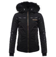Jacheta ski Colmar model 2086 negru pentru femei « ActivShop Brasov magazin online Motorcycle Jacket, Skiing, Winter Jackets, Costume, Romania, Model, Snow, Clothes, Fashion