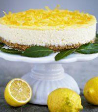 Citroncheescake med lemoncurd