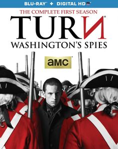 On March 17th Anchor Bay Entertainment releases AMC's powerful Revolutionary War drama TURN: Washington's Spies: The Complete First Season on Blu-ray + Digital HD and DVD.