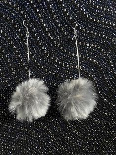 Check out this item in my Etsy shop https://www.etsy.com/ca/listing/567206290/gorgeoud-dangly-fur-earrings-statement