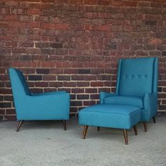Superior Just A Pair Of Chairs In #knoll Fabric #knolltextiles #midcentury # Midcenturymodern # · Cleveland Ohio