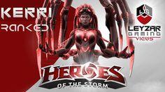 Heroes of the Storm Ranked Gameplay - Kerrigan Queen of Ghosts (HotS Ker...