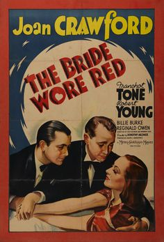 Joan Crawford. The Bride Wore Red
