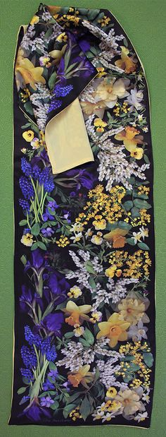 From my neighbor's garden. Scanner Photography By Ellen Hoverkamp — Lined Silk Iris and Pieris Scarf Say Hi, Vera Bradley Backpack, Order Prints, My Images, Floral Tie, Note Cards, Iris, Pattern, Photographs