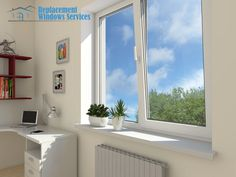 Tilt-turn windows offer European styling and dual functionality. Simply turn the handle 90 degrees to swing the window sash open into your room for a clear view and a full breeze. Tilt And Turn Windows, Basement Windows, Window Replacement, Sash Windows, Glass, House, Food Presentation, Drinkware, Haus