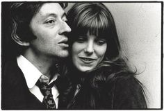 How adorable are they? Serge Gainsbourg + Jane Birkin