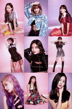 TWICE - Tzuyu, Mina, Momo, Chaeyoung, Jihyo, Jeongyeon, Dahyun, Sana