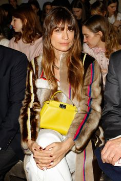 Caroline de Maigret at Fendi | Fall 2014 Ready-to-Wear Collection | Style.com
