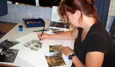 Award Winning Animal Artist Colette Theriault
