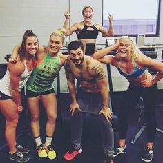 "kkjeff: ""Brooke Wells, Katrin Davidsdottir, Mat Fraser, Brooke Ence & Sara Sigmundsdottir """