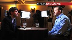 """ABC News anchor George Stephanopoulos today interviewed Ferguson, Mo., police officer Darren Wilson, releasing a photo of the interview this afternoon via Twitter. No question off limits."""" Edited excerpts will air on World News Tonight and Good Morning America. The full interview will post on ABCNews.com tomorrow.  #abcnews #georgestephanopoulos #fergusonpolice #darrenwilson #photo #interview #twitter #tweeted #goodmorningamerica #worldnewstonight"""