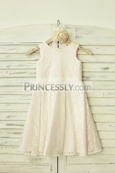 Princessly.com-K1000194-Ivory Lace Flower Girl Dress with blush pink lining-31