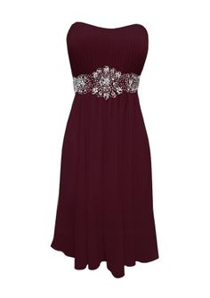 This is my homecoming dress and I'm absolutely in LOVE with it! <3 It's gorgeous in the burgandy color.