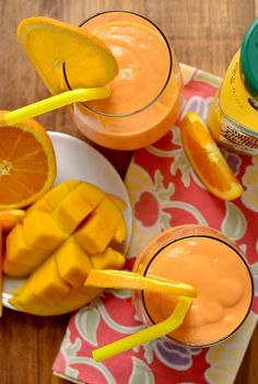 Pineapple, Mango & Orange Smoothie