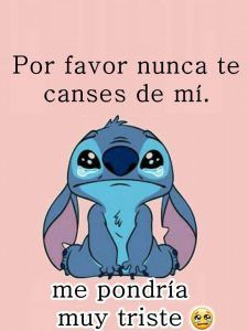 Pictures of sad sad stitch, - Stitching Projects Lilo And Stitch Quotes, Lilo Und Stitch, Cartoon Wallpaper Iphone, Cute Disney Wallpaper, Bear Wallpaper, Ex Amor, Cute Stitch, Love Phrases, Starco