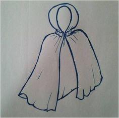 Rotkäppchenmantel - Rotkäppchen Kostüm selber machen - Anleitung