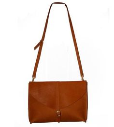 Leather Envelope Crossbody Bag   You've got a lot of essentials, and this crossbody leather bag...   Handbags