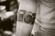 60 tatuagens de câmeras