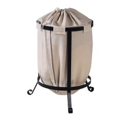 PORTIS Laundry bin IKEA The laundry bag does not absorb moisture or odors from the laundry because it is made of polyester.