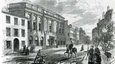 Boston Athenæum (built 1849 CE) pictured here in 1855