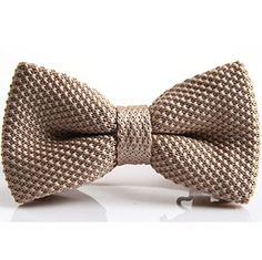 S E Vintage Adjustable Strap Casual Plain Knitted Pre Tied Bow Tie Bowtie (Khaki) Seven And Eight http://www.amazon.com/dp/B00LF44N1M/ref=cm_sw_r_pi_dp_.MJlub01GT8S1