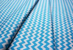 Fabric Finders #1404 Turquoise Chevron
