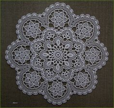 something for ladies and gentlemen . Free Crochet Doily Patterns, Crochet Lace Edging, Crochet Mandala, Baby Knitting Patterns, Crochet Designs, Crochet Flowers, Crochet Home, Irish Crochet, Crochet Crafts