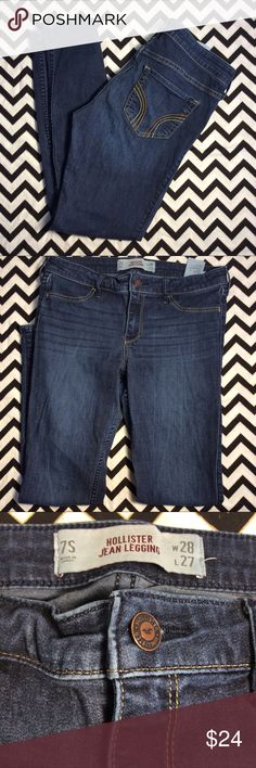 Hollister Jean legging sz7s Size 7 in good condition Hollister Jeans Skinny