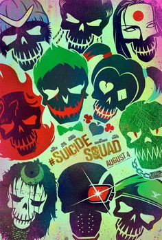 """MANILA,Jan. 19, 2016– Warner Bros. Pictures has just rolled out the skull-themed icon logos of its """"Suicide Squad"""" villainous characters. Check out the darkly inspired looks below, plus the combo…"""