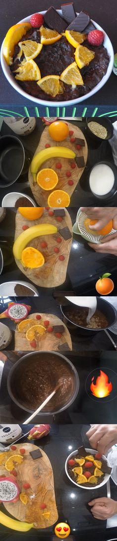 Kickstart the day on a high with this simple and fast oats vegan recipe for a nutritious breakfast fueled with of protein. Protein Oatmeal, Nutritious Breakfast, French Toast, Vegan Recipes, Orange, Food, Vegane Rezepte, Essen, Meals