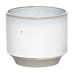 Planter Ceramic White/Grey - Large (27 CAD) ❤ liked on Polyvore featuring home, home decor, white home decor, white home accessories, white planters, gray home decor and ceramic home decor