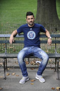David Villa, Spanish soccer star, out to win MLS trophy for NYC ...