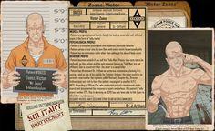 Arkham Files - Professor Pyg by Roysovitch on DeviantArt Professor Pyg, Dc Comics, Victor Zsasz, Lego Knights, Batman Universe, Dc Universe, Hq Dc, Comic Villains, Mundo Comic