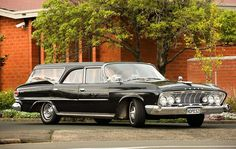 Hope & Sons Funeral Homes, New Zealand Restored 1961 Dodge Seneca Hearse
