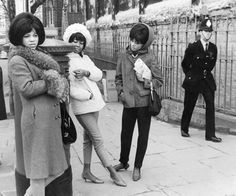 BLACK IN BRITAIN rather than BLACK AND BRITISH but I love it . . . The Supremes in London, 1960s
