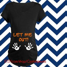 Baby Skeleton Let Me Out Maternity Shirt Halloween Pregnancy Shirt, Pregnant Halloween Costumes, Pregnancy Shirts, Baby Shirts, Halloween Shirt, Maternity Halloween, Halloween Ideas, Disney Maternity, Maternity Tees