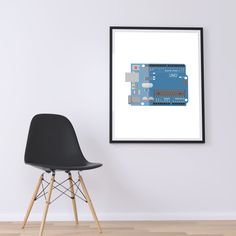 Nerd Gifts, Nerd Art, Home Wall Art, Print Poster, Computer Science, Arduino, Art Decor, Home Decor, Industrial Design