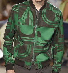 patternprints journal: PRINTS, PATTERNS, TEXTURES AND TEXTILE SURFACES FROM MENSWEAR S/S 2016 COLLECTIONS / PARIS CATWALKS Hermès.