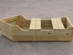 Wooden Playground Vehicles – Rowing Boat