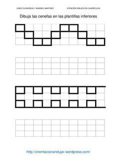 CENEFAS-5 Preschool Writing, Teaching Math, Visual Perceptual Activities, Math Patterns, Graph Paper Art, Pencil Grip, Love Math, Felt Quiet Books, Kindergarten Lessons