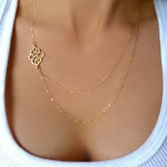 Twin Gold Plated Branches Necklace Brand New - Orders will be shipped the same business day. Jewelry Necklaces