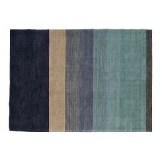 In a tonal palette from dusty blues to deep indigo, this short pile floor rug is an ideal addition to the home to make a real impact to your space.