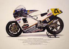 Freddy Spencer's Honda NSR500