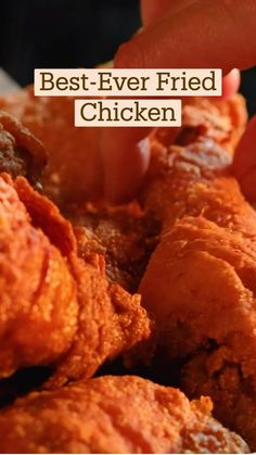 Easy Chicken Dinner Recipes, Fried Chicken Recipes, Chicken Fried Chicken, Baking Recipes, Dessert Recipes, Food Cravings, Food Dishes, Yummy Food, Tasty