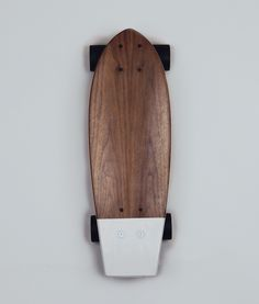Skateboard in pigeon grey by Salt I Remodelista