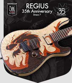 Mayones 35th anniversary Regius Draco 7
