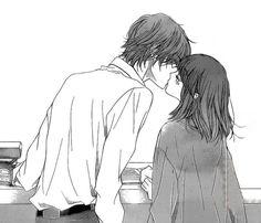 Shoujo is Laif ❤ Manga anyone? Manga Anime, Anime Amor, Anime Kiss, Romantic Anime Couples, Romantic Manga, Manga Couple, Anime Love Couple, Sketch Manga, Cute Anime Coupes