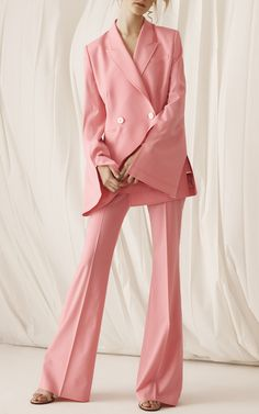 Adeam R18 - Flared Zip Trouser €726, Tailored Slit Jacket €1.284